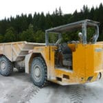 14.00R24 MR800 mounted on PAUS Dumptruck in Germany