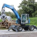 Successful trial of Magna MA608 Super Solid on Terex Fuchs MHL 250 material handling machine