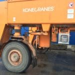 Magna M-Straddle tyres in use on Konecranes straddle carrier at Port of Tallinn in Estonia
