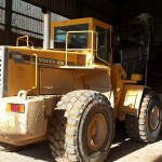 26.5R25 MA02 at work on Volvo L180C wheel loader in German brick factory