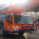Good performance Magna MA03 crane tyres at Bruns Schwerlast, Germany