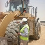 Outstanding performance of Magna 29.5R25 MA02 tyres at Al Wakrah in Qatar