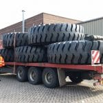 The 36.00R51 MA09 tyres are on their way to Saudi Arabia