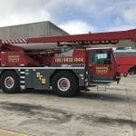Mobile Crane Company in Australia equipped with Magna MA03 Crane Tyres