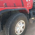 Impressive performance Magna MA03 tyres on rough terrain in Oman