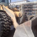 Another wheel loader fitted with MA02 tyres at construction site in Germany
