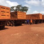 Magna MA03 tyres mounted at large number of trucks in Guinea