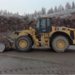 Impressive performance Magna MA08 at rock quarry in Finland