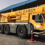 First mobile cranes Al Faris equipped with Magna MA03 tyres in UAE
