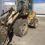 Great performance MA601 Super Solid tyres at waste recovery centre in France