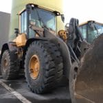 Another Wheel Loader equipped with Magna MA10 at recycling company Belgium