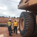 Magna MB440 tyres for giant dump trucks in South America
