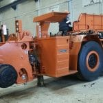 MA05S Magna tyres used for revised mining equipment in Mexico