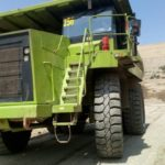 27.00R49 Magna MA04+ Giants selected for Iron mine in Middle East region.