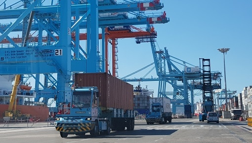 Pneus de Manutention Portuaire