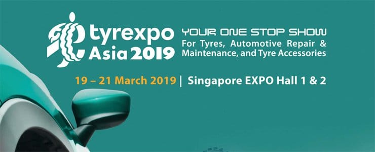 Meet Magna Tyres Group at Tyrexpo Asia 2019 in Singapore
