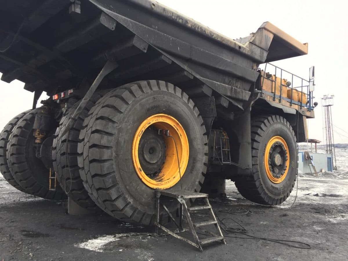 33.00R51 Magna MA04+ Giants are chosen for a large open pit coal mine in Russia