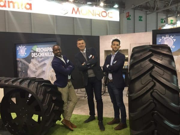 Day 4 at SIMA Paris! Visit Magna Tyres Group