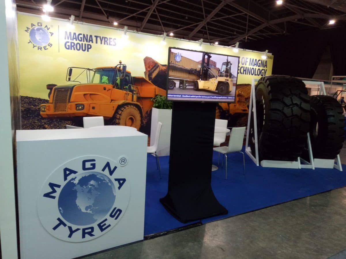 First 2 days of Tyre Expo Asia 2019 very successful for Magna Tyres!