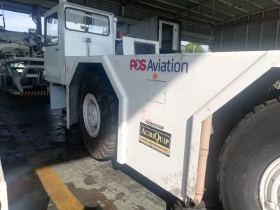 16 00-25 Magna MB01 used on an Aircraft Pushback truck at
