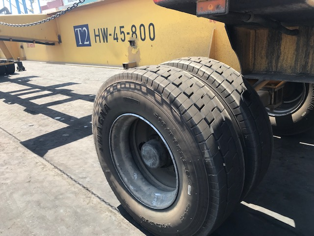 DP World in Suez, Egypt has chosen for the 310/80R22.5 Magna M-Terminal because of the quality without downtime