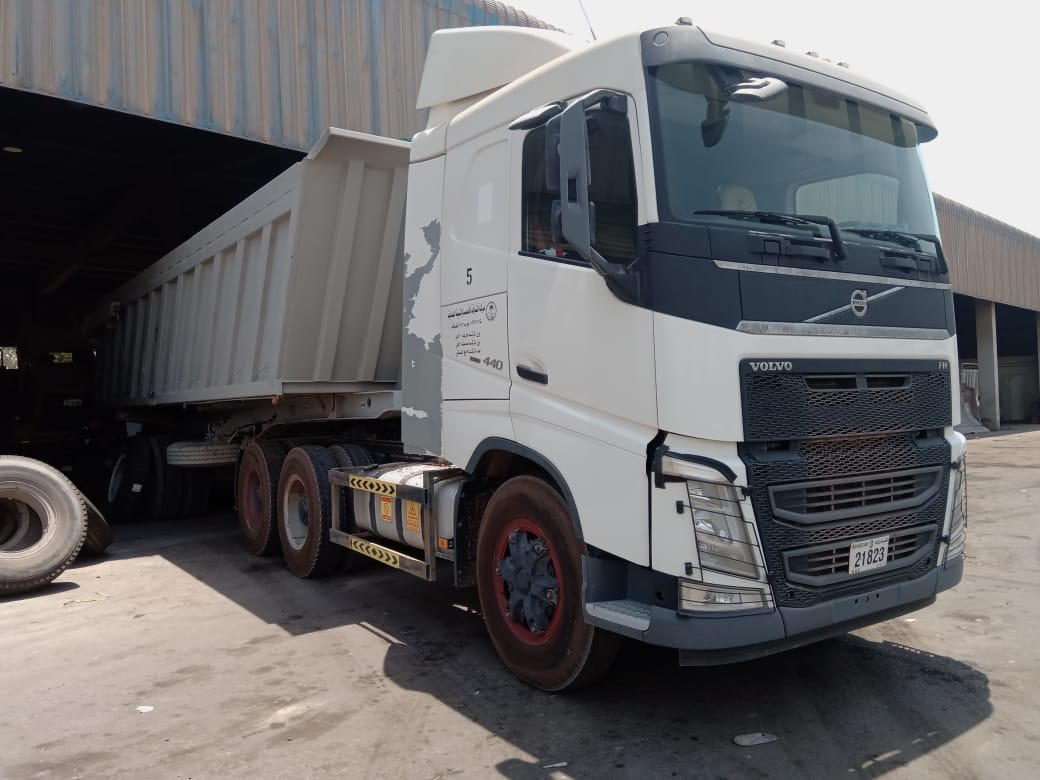 One of the largest producer of port land cement in the Middle East is using 12.00R24 Magna MSO