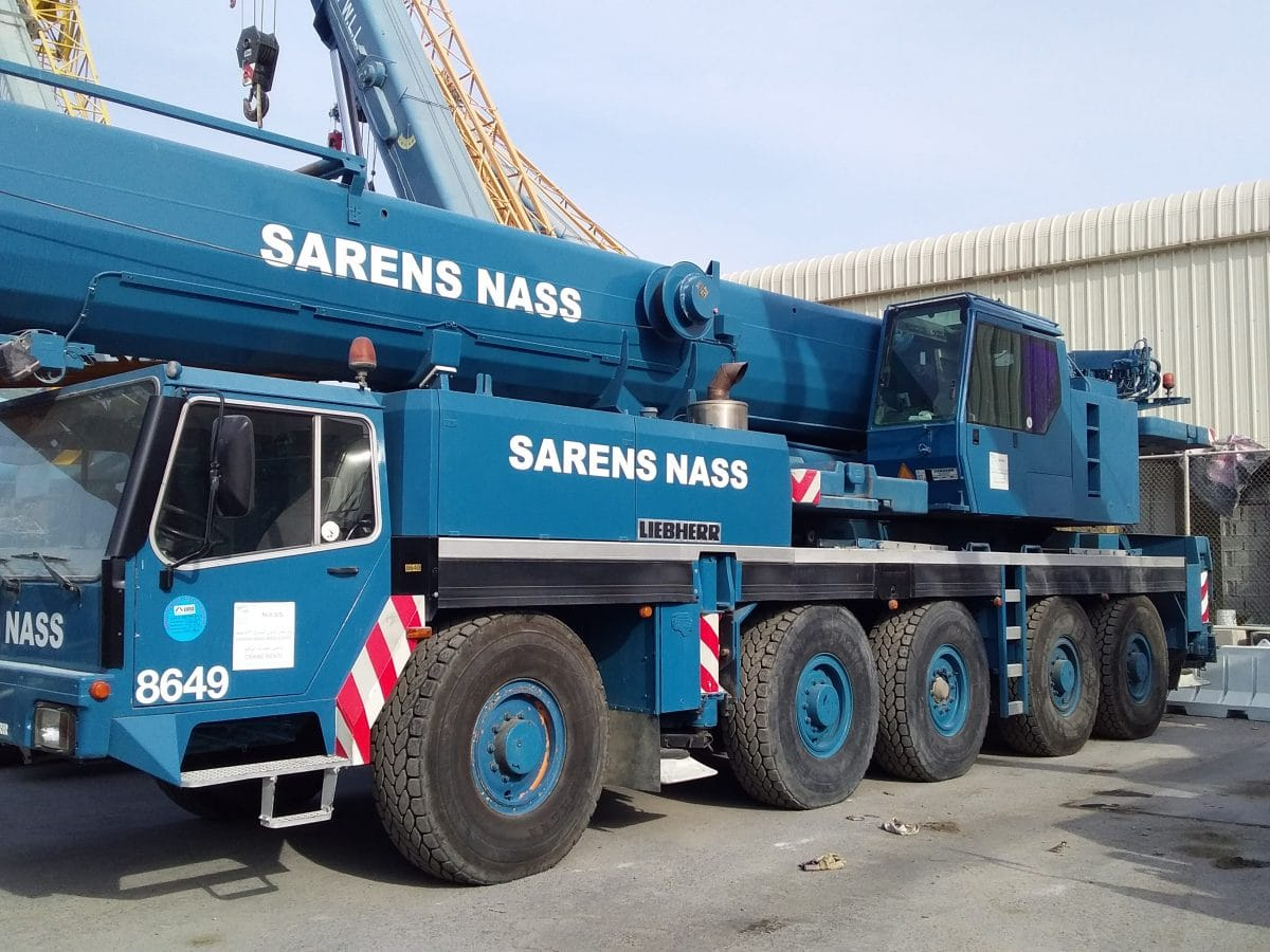 A recognized leader in crane services, egineered heavy lifting and shift solutions bought 445/95R25 Magna MA03 tyres