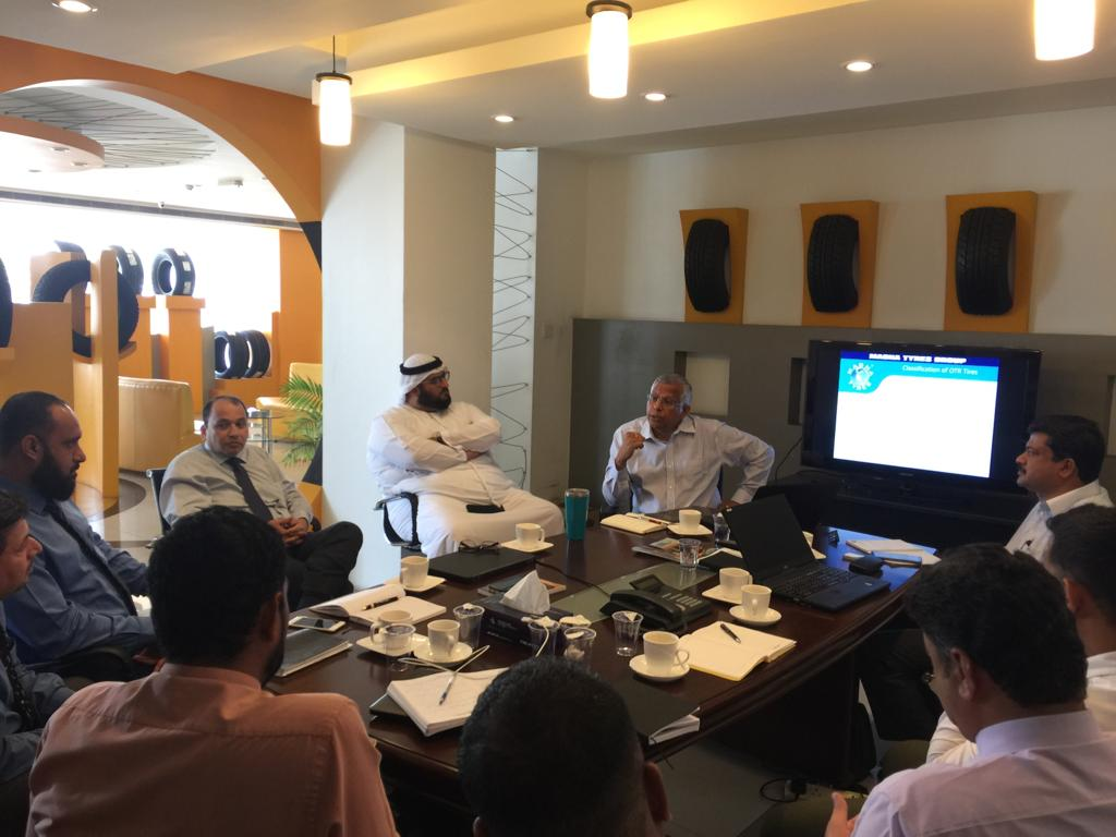 OTR training session for our U.A.E. partner Easa Saleh Al Gurg LLC was very successful