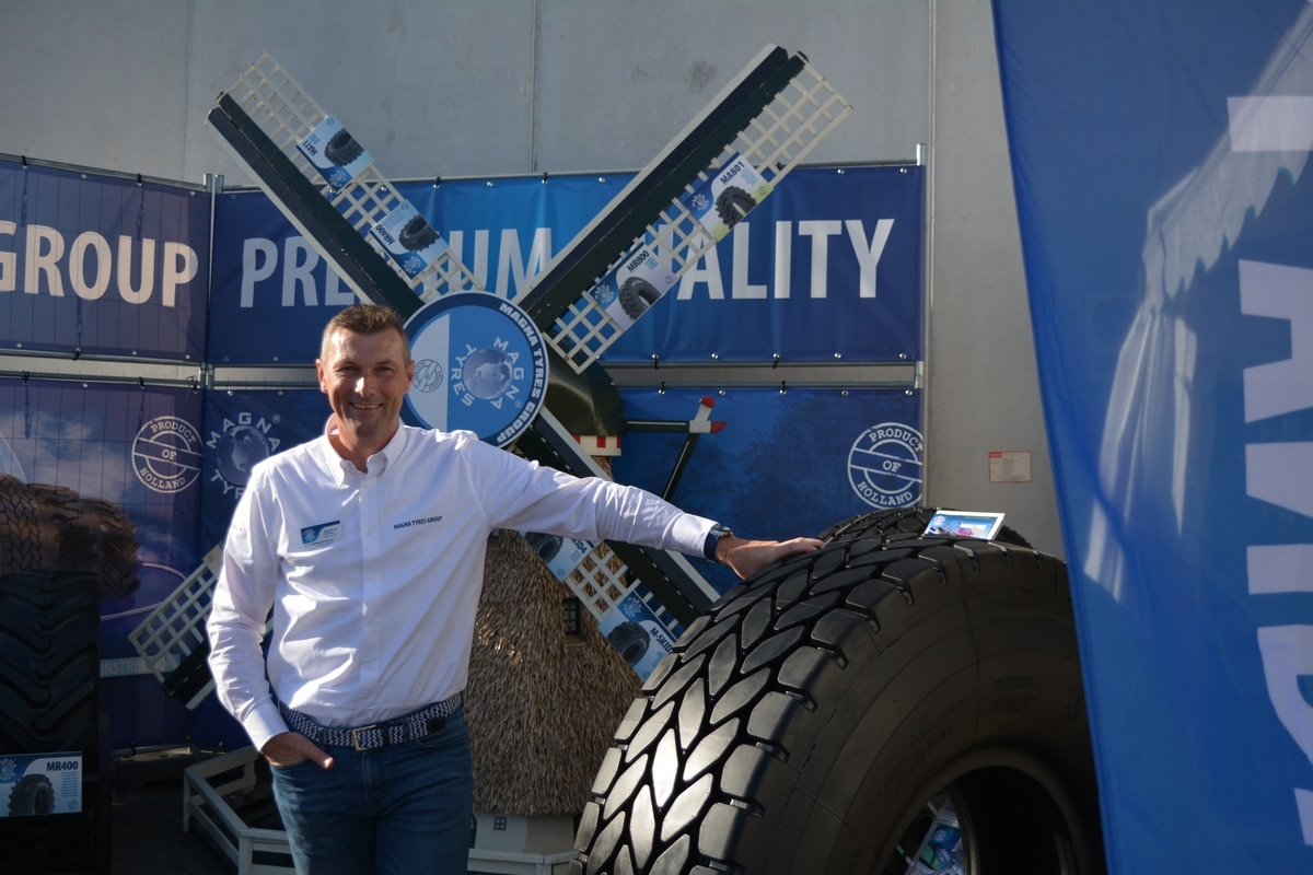 An exclusive interview with Stephan van Leeuwen about Magna Tyres in the Italian market