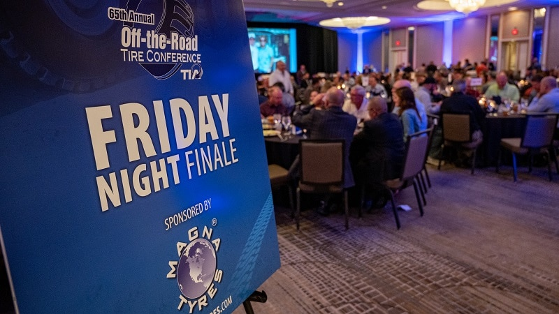 Finished the TIA OTR Conference with a bang by sponsoring the Friday Night Finale